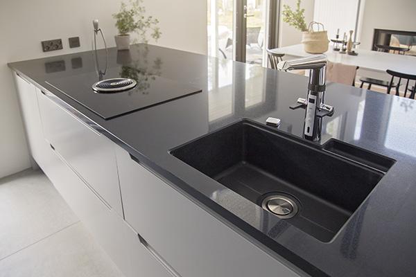 Stala tiskialtaat keittiöissä ja kodinhoitohuoneissa